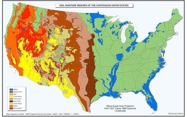 Mapping US North American Earth Systems - Us soil temperature map